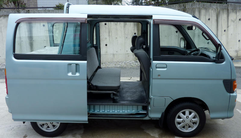Daihatsu Hijet Deck Van 4WD
